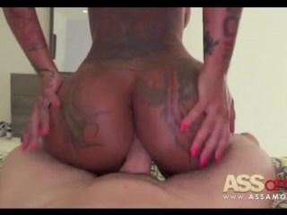 El placer de hacer un anal a una culona
